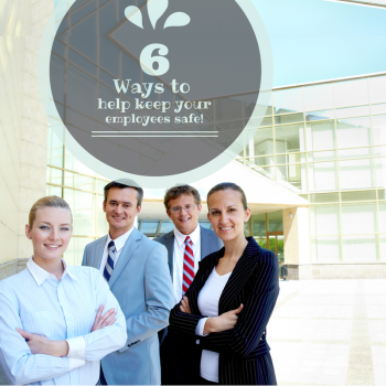 Help protect your employees