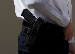 Armed Security Officers from Sterling Protective Services.