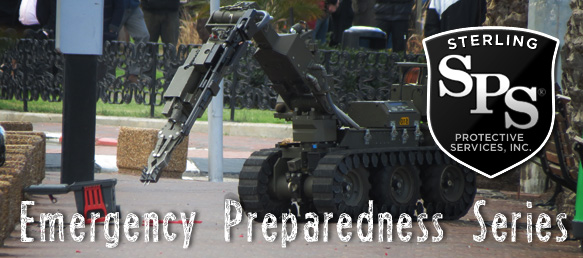 Bomb threat preparedness and emergency procedures from Sterling Protective Services