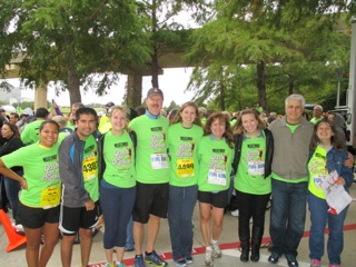 Sterling's Dash for Dignity team