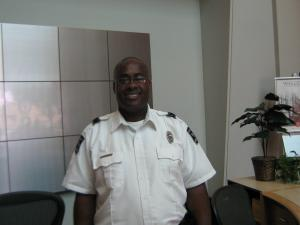 Special Recognition to Officer Demetrius James, a fine security guard Sterling Protective Services is proud to employ