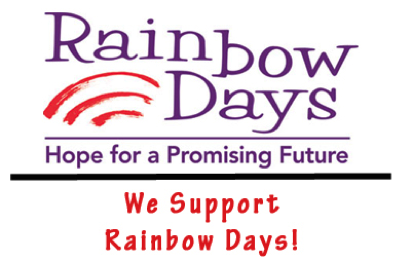 Supported non-profit Rainbow Days